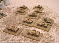 Close-up of the M-11/39 battalion