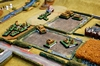 Late-war BlitzkriegCommander game in progress by Dave Fowler (10mm scale)